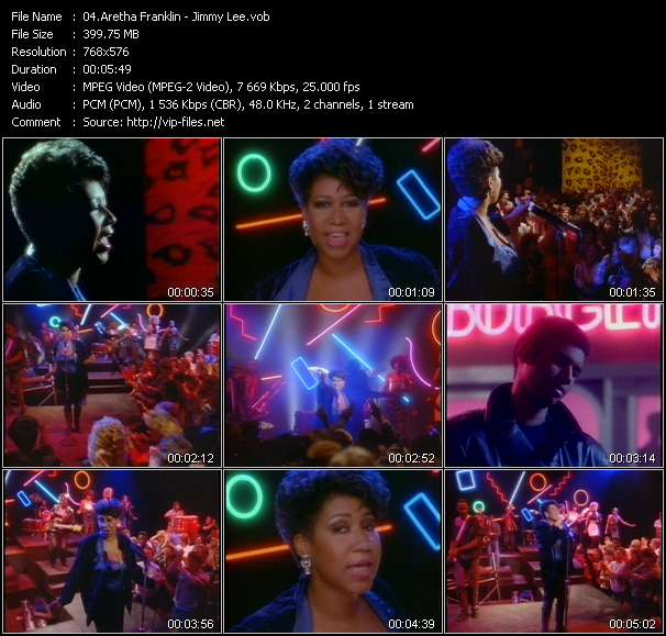 Aretha Franklin Video Clip(VOB) vob