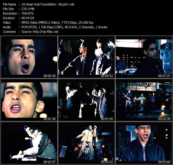 Asian Dub Foundation Video Clip(VOB) vob