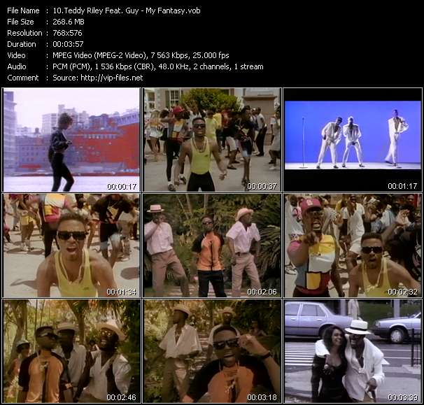 Teddy Riley Feat. Guy Video Clip(VOB) vob