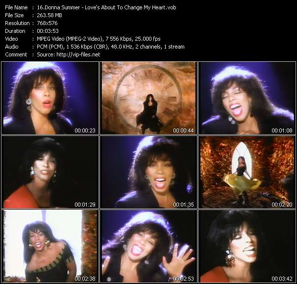 Donna Summer Video Clip(VOB) vob