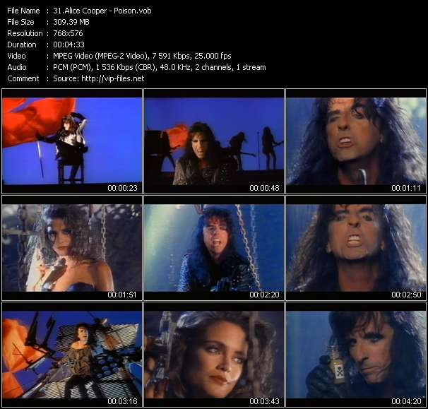 Alice Cooper Video Clip(VOB) vob
