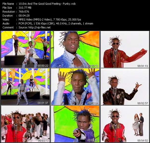 Eric And The Good Good Feeling Video Clip(VOB) vob
