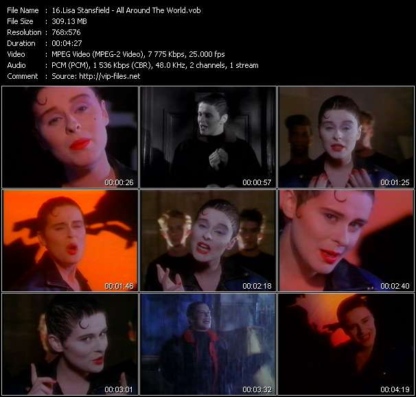 Lisa Stansfield Video Clip(VOB) vob