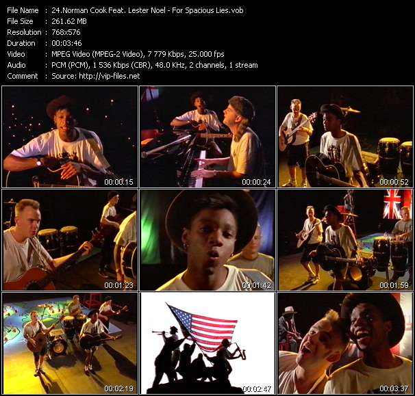 Norman Cook Feat. Lester Noel Video Clip(VOB) vob