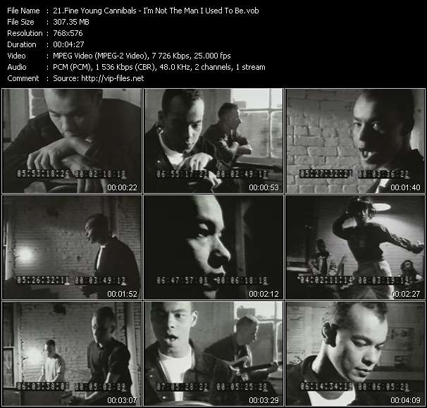Fine Young Cannibals Video Clip(VOB) vob