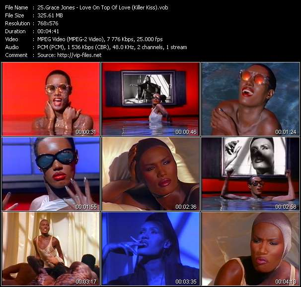Grace Jones Video Clip(VOB) vob
