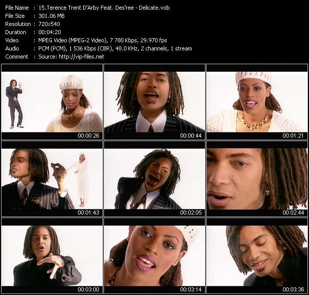 Terence Trent D'Arby Feat. Des'ree Video Clip(VOB) vob