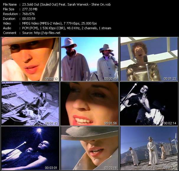 Sold Out (Souled Out) Feat. Sarah Warwick Video Clip(VOB) vob