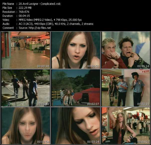 Avril Lavigne Video Clip(VOB) vob