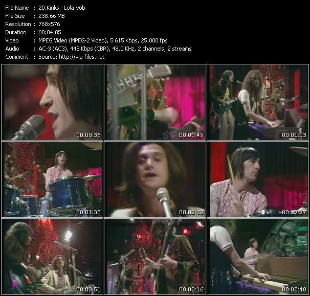 Kinks Video Clip(VOB) vob
