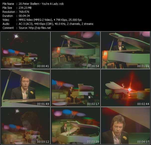 Peter Skellern Video Clip(VOB) vob
