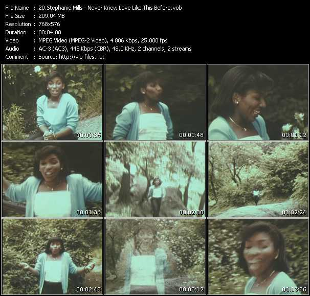 Stephanie Mills Video Clip(VOB) vob