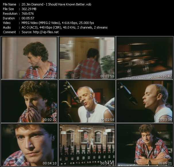 Jim Diamond Video Clip(VOB) vob