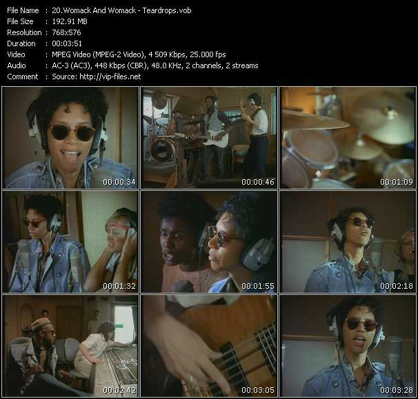 Womack And Womack Video Clip(VOB) vob