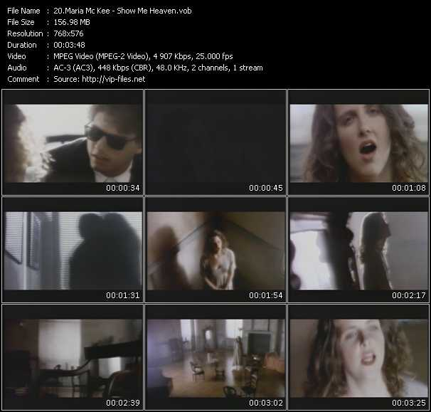 Maria Mc Kee Video Clip(VOB) vob