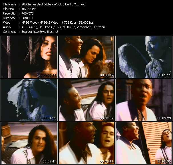 Charles And Eddie Video Clip(VOB) vob