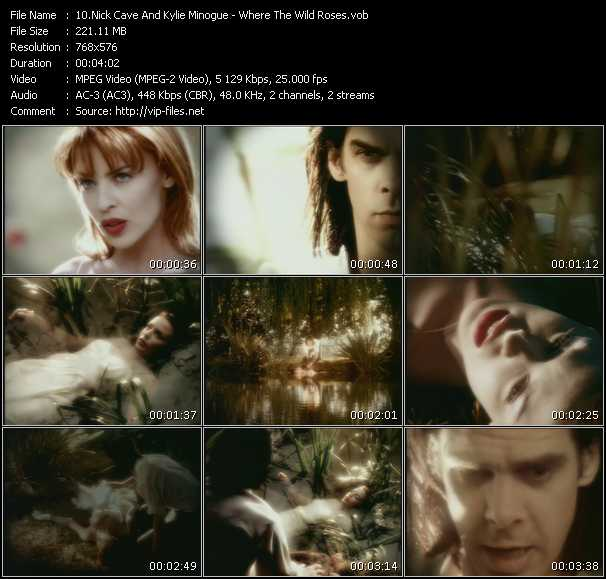 Nick Cave And Kylie Minogue Video Clip(VOB) vob