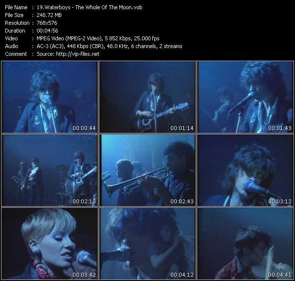 Waterboys Video Clip(VOB) vob