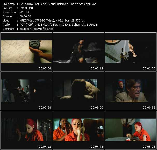 Ja Rule Feat. Charli Chuck Baltimore Video Clip(VOB) vob