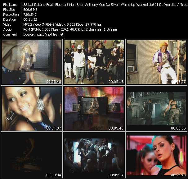 Kat DeLuna Feat. Elephant Man - Brian Anthony - Geo Da Silva Video Clip(VOB) vob