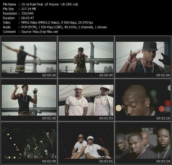 Ja Rule Feat. Lil' Wayne Video Clip(VOB) vob