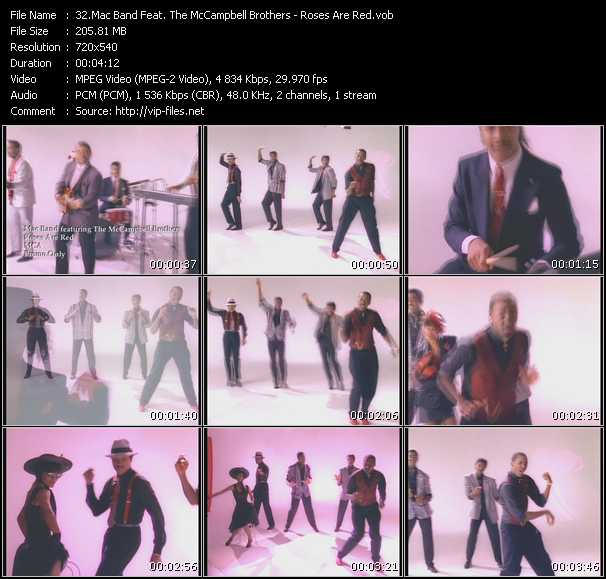 Mac Band Feat. The McCampbell Brothers Video Clip(VOB) vob
