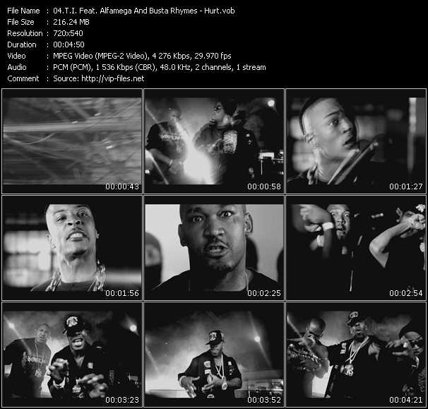 T.I. Feat. Alfamega And Busta Rhymes Video Clip(VOB) vob