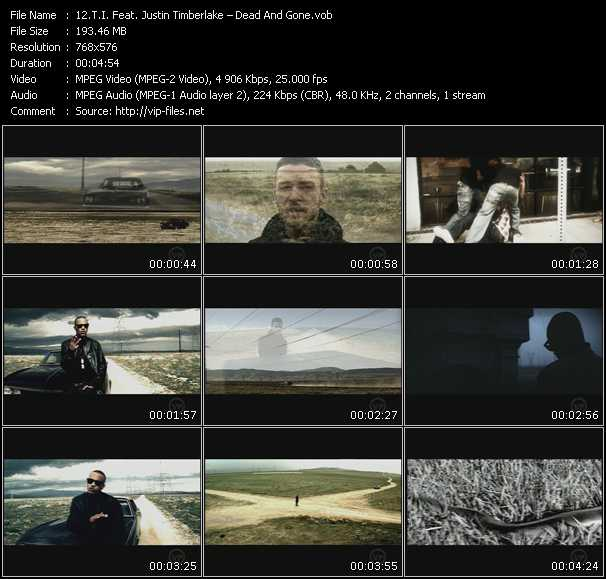 T.I. Feat. Justin Timberlake Video Clip(VOB) vob