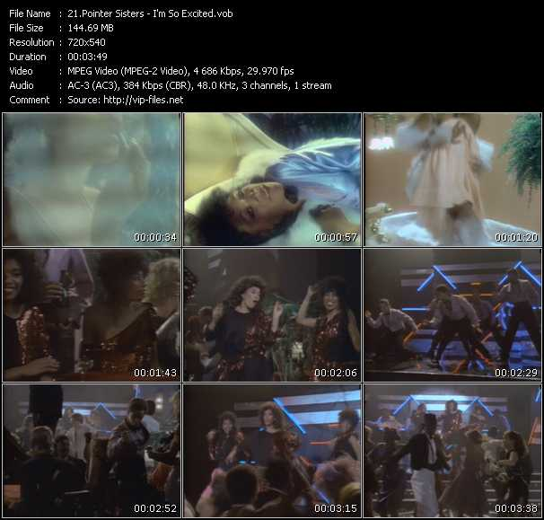 Pointer Sisters Video Clip(VOB) vob