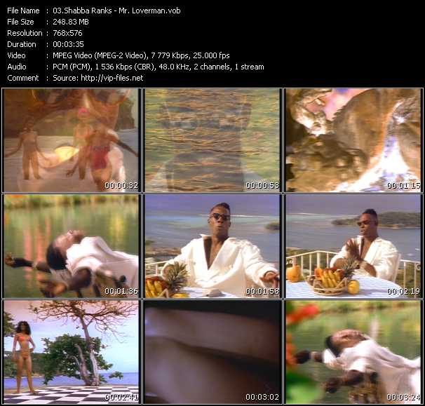 Shabba Ranks Video Clip(VOB) vob