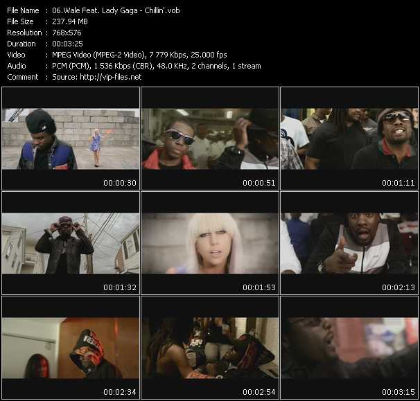 Wale Feat. Lady Gaga Video Clip(VOB) vob