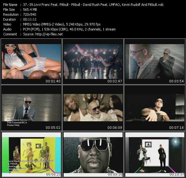 Livvi Franc Feat. Pitbull - Pitbull - David Rush Feat. Lmfao, Kevin Rudolf And Pitbull Video Clip(VOB) vob