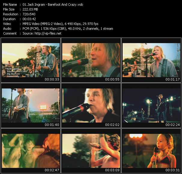 Jack Ingram Video Clip(VOB) vob