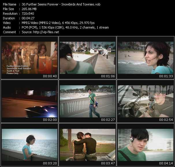 Further Seems Forever Video Clip(VOB) vob