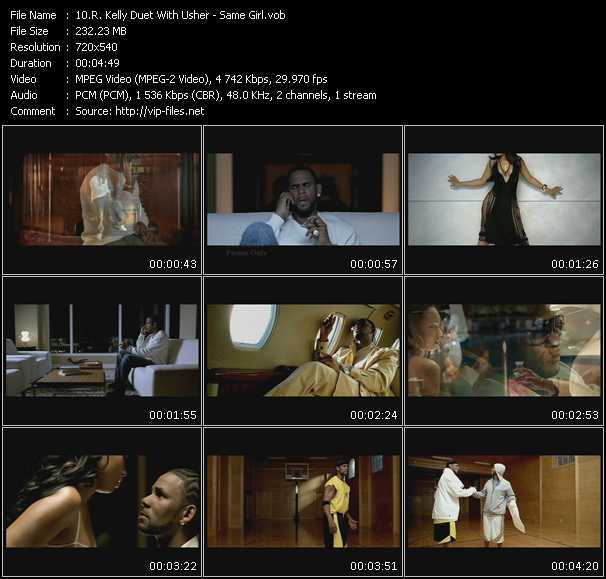 R. Kelly Duet With Usher Video Clip(VOB) vob
