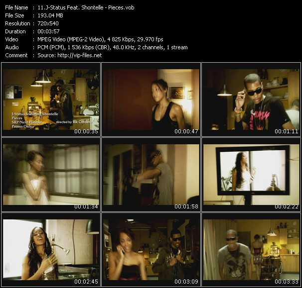 J-Status Feat. Shontelle Video Clip(VOB) vob