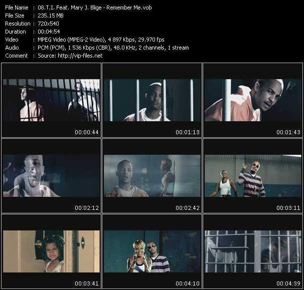 T.I. Feat. Mary J. Blige Video Clip(VOB) vob