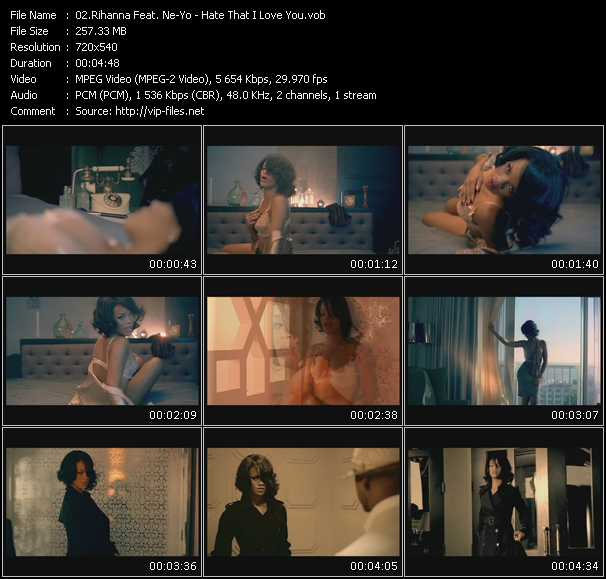 Rihanna Feat. Ne-Yo Video Clip(VOB) vob