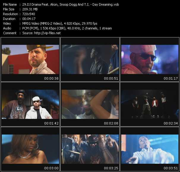 Dj Drama Feat. Akon, Snoop Dogg And T.I. Video Clip(VOB) vob