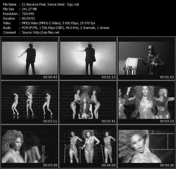 Beyonce Feat. Kanye West Video Clip(VOB) vob