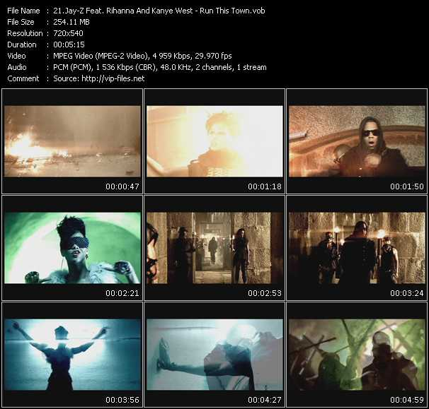 Jay-Z Feat. Rihanna And Kanye West Video Clip(VOB) vob