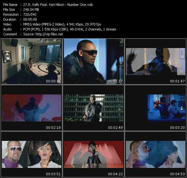 R. Kelly Feat. Keri Hilson Video Clip(VOB) vob