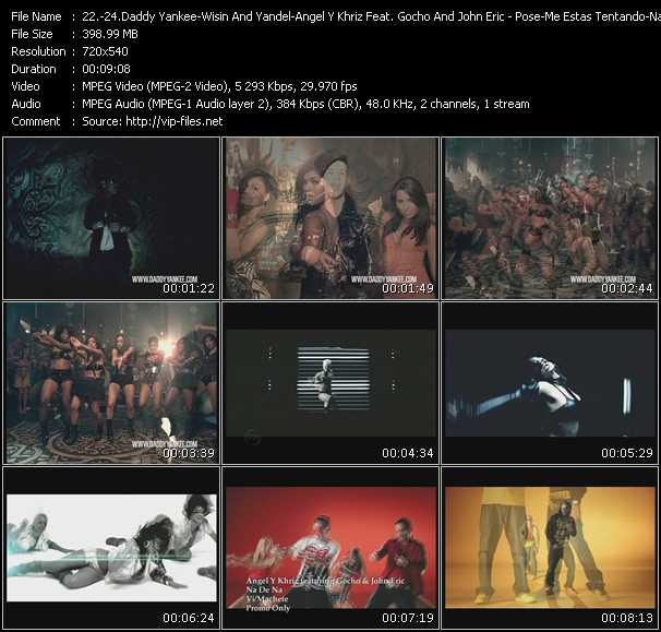 Daddy Yankee - Wisin And Yandel - Angel And Khriz Feat. Gocho And John Eric Video Clip(VOB) vob