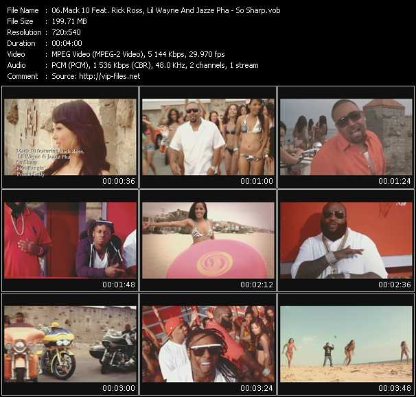 Mack 10 Feat. Rick Ross, Lil' Wayne And Jazze Pha Video Clip(VOB) vob