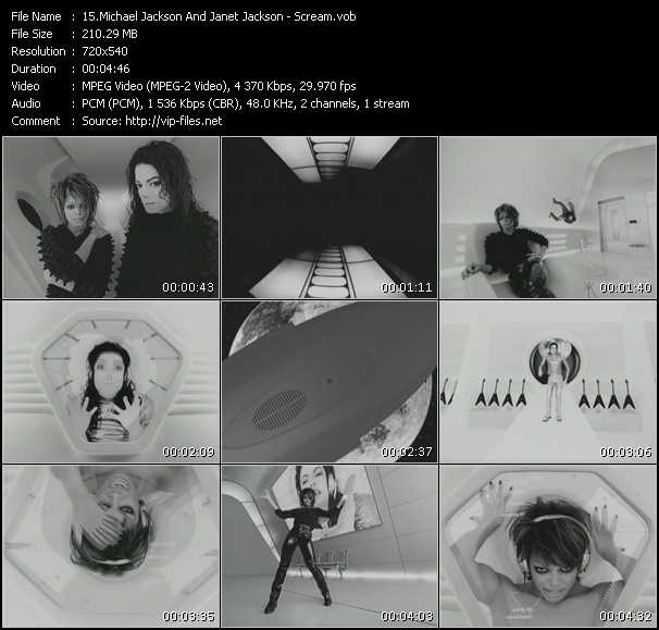 Michael Jackson And Janet Jackson Video Clip(VOB) vob