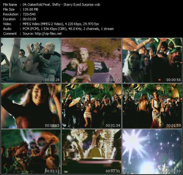 Oakenfold Feat. Shifty Video Clip(VOB) vob
