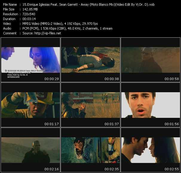 Enrique Iglesias Feat. Sean Garrett Video Clip(VOB) vob