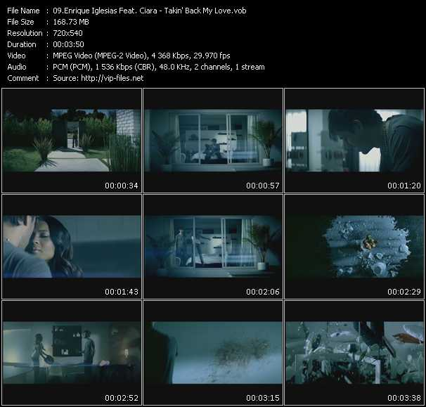 Enrique Iglesias Feat. Ciara Video Clip(VOB) vob