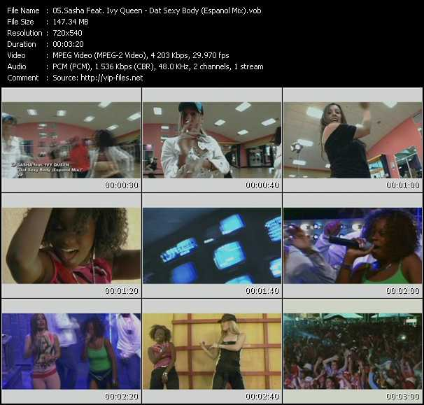 Sasha Feat. Ivy Queen Video Clip(VOB) vob