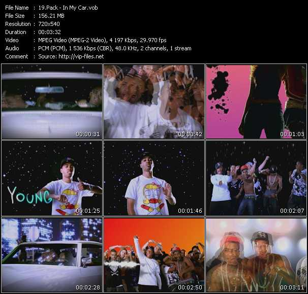 Pack Video Clip(VOB) vob